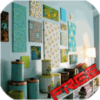 Icône apk Wall Decoration Ideas