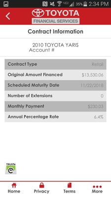 MyTFS   Toyota Financial Image 1