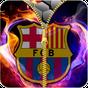 FC Barcelona zipper lock screen  APK