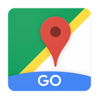 Google Maps Go - Directions, Traffic & Transit 아이콘