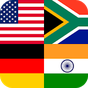 Países, capitais e bandeiras Logo quiz flags colors 1.3