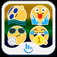 Rio Summer Sports Emoji Pack APK icon