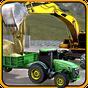 cemento excavador tractor sim  APK