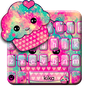 Hot Pink Cupcake Keyboard Theme 1.0