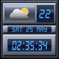 APK-иконка Погода и Цифровые часы виджет