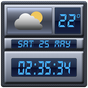 Widget meteo și Ceas digital 1.3.9 APK