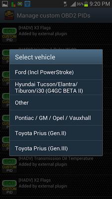 Hyundai Adv (OBD) for Torque Android - Free Download Hyundai Adv