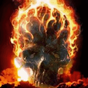 Skull In Flame Live Wallpaper 4.0
