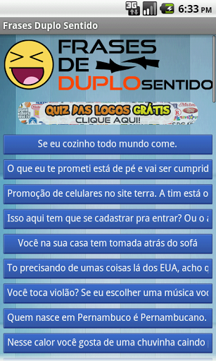 Frases De Duplo Sentido Android Baixar Frases De Duplo Sentido