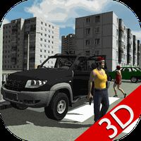 APK-иконка Real City Russian Car Driver