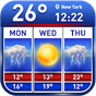 Weather report & temperature widget 10.8.0.2800