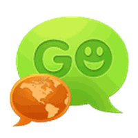 Ícone do GO SMS Pro Greek language pack
