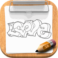 How To Draw Graffiti apk icon