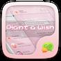 GO SMS PLANT A WISH THEME 1.0