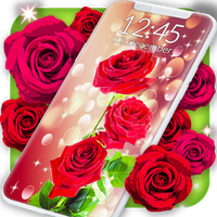 imagen red rose live wallpaper 0thumb