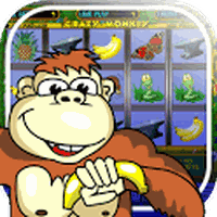 Crazy Monkey slot machine icon