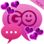 Theme Hearts for GO SMS Pro  APK