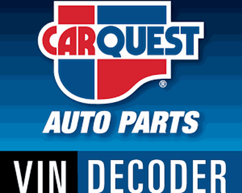 CARQUEST VIN Decoder Android