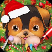 クリスマスペットネイルサロン - 子供のゲーム APK アイコン