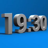 Ícone do 3D Relógio Grátis