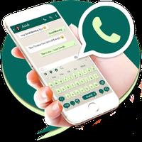 Ícone do apk Teclado tema para Whatsapp