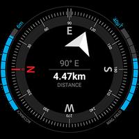 Ícone do GPS Compass Navigator