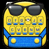 Ícone do apk Novo tema de teclado Cartoon Yellow Me
