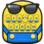 Novo tema de teclado Cartoon Yellow Me 1.0