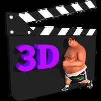 Ikona apk Iyan 3d - Make 3d Animations