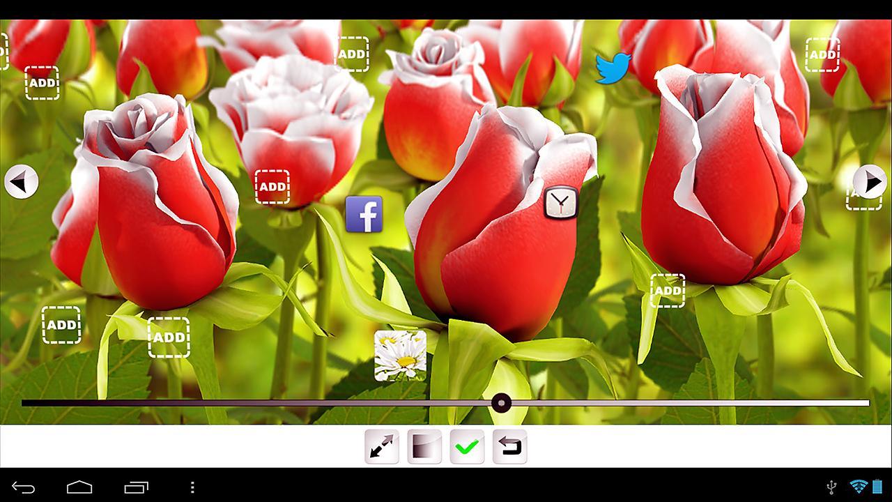 Téléchargezmy Flower 3d Live Wallpaper 106 Apk Gratuit Pour Votre