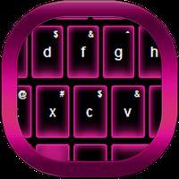 Ícone do apk Pink Neon Keypad Theme
