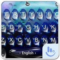 Live 3D Blue Water Keyboard Theme icon