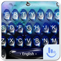 Live 3D Blue Water Keyboard Theme 6.3.31.2019