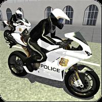 Police Auto Motor Bike - Crazy City Thrill Riding APK icon
