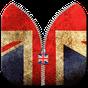 UK Flag Zipper Screen Lock  APK