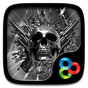 DEATH METAL GO Launcher Theme v1.0 APK