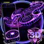 3D Fidget Spinner Neon Hologram Theme 1.1.2