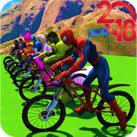 Apk Superhero Bmx Stunt Racing