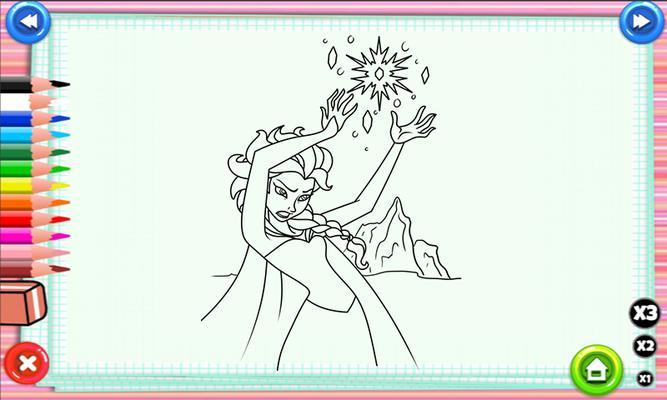 Elsa Boyama Oyunları Indir Elsa Boyama Oyunları Android