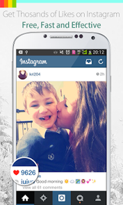 InstaLike Get Instagram Likes Android - Free Download
