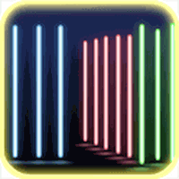 Ícone do Luz de Néon 3D Papel de Parede