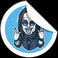 Ícone do Telegram Stickers