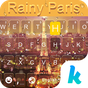 Rainy Paris Keyboard Theme 1.0