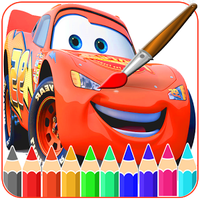Mcqueen Coloring pages -Cars- apk icon