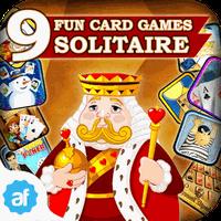 Icône de 9 Fun Card Games - Solitaire, Gin Rummy, Mahjong