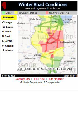 IDOT Road Conditions IL Android - Baixar IDOT Road Conditions IL Android -  Online Guides