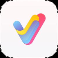 V Launcher-desktop assistant icon