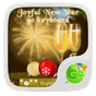 Joyful New Year GO Keyboard