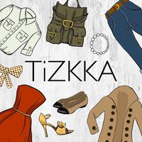 Ícone do apk TiZKKA Aplicativo de Moda