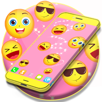 Ícone do Emoji Live Wallpaper